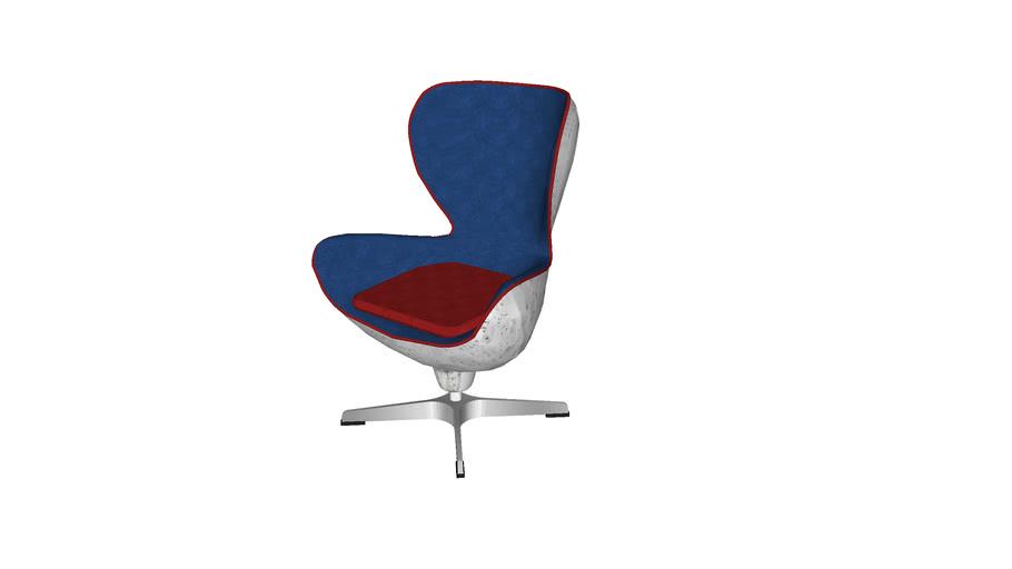 78941 Swivel Chair Soho Big Boss Blue (Drehsessel Soho Big Boss Blue)