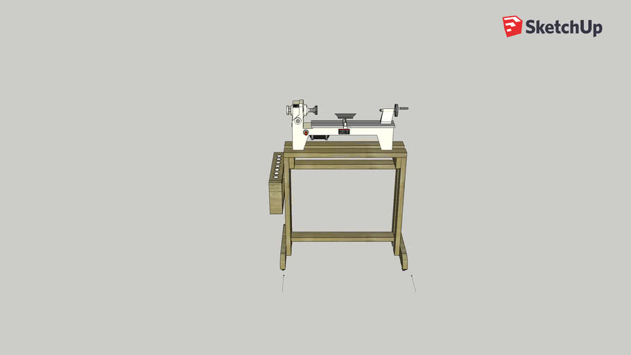 Lathe Stand W/ Tool holder