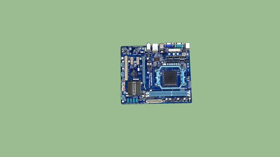 Motherboard Gigabyte ga-m68mt-s2