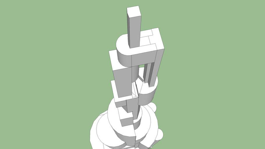 Random Futuristic Tower