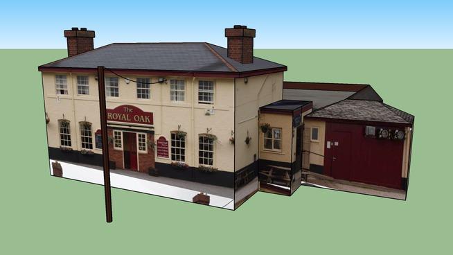 The Royal Oak Pub in Exminster
