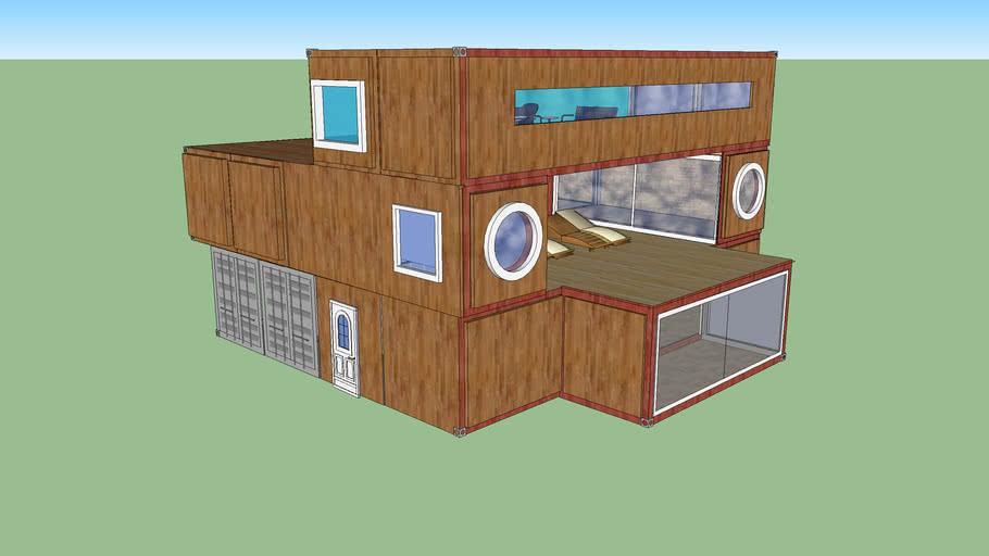Maison Container 3d Warehouse