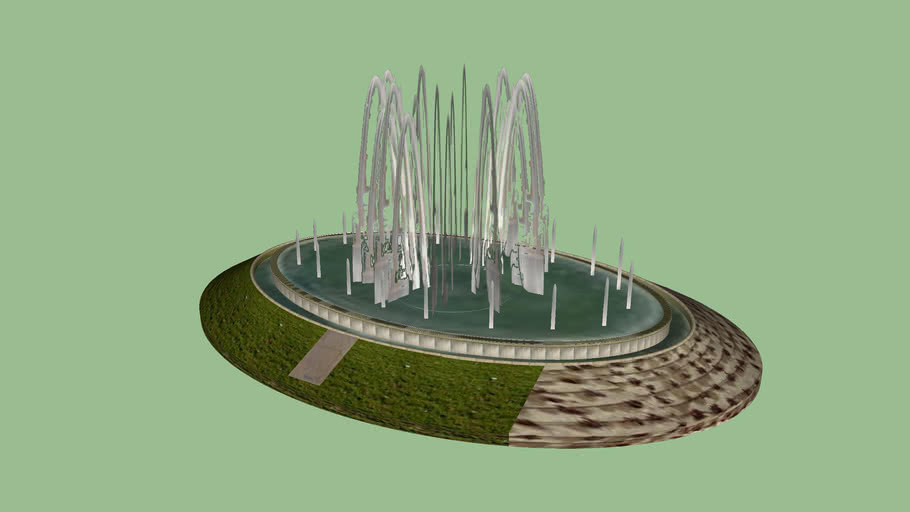 Fuente parque Juan XXIII