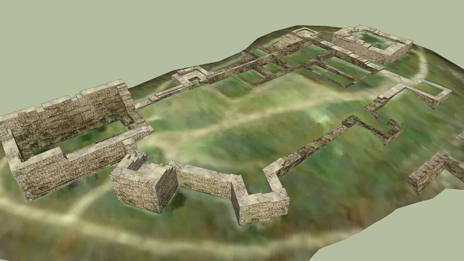 Alcobaça Castle Ruins