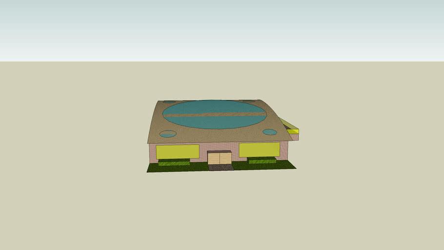 Dream House with no inside