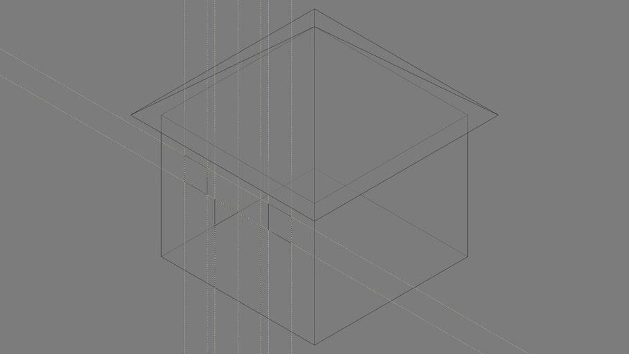 "SU visual style (Style) ""X-Ray 18% Gray (2019-05-28_08-32)"""