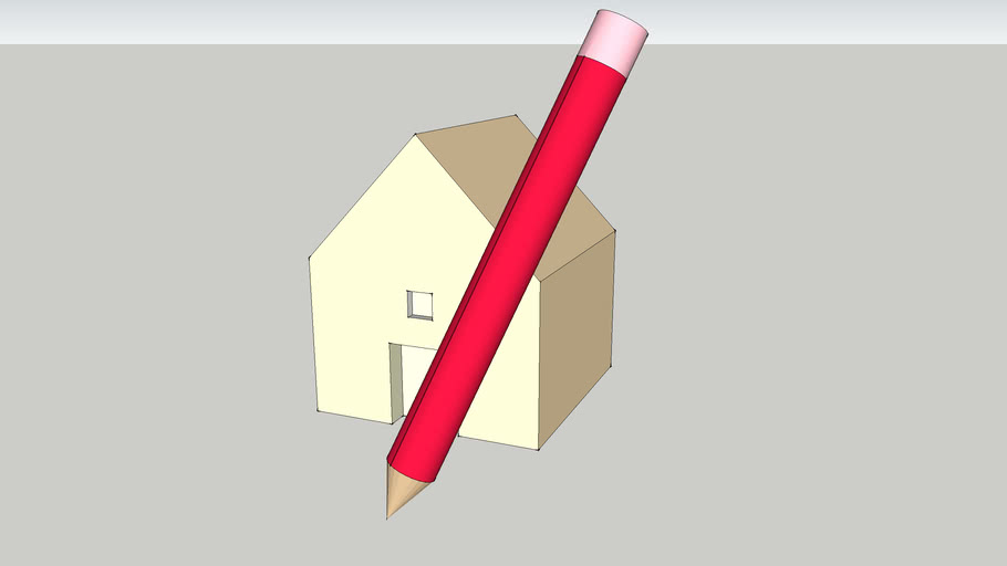 Sketchup House for icon