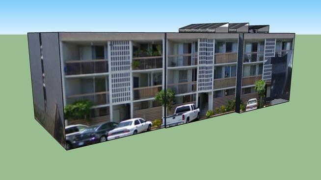 ホノルル, ハワイ, アメリカ合衆国にある建物