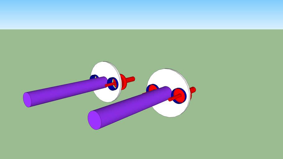 GBB gun prototype high flow valve