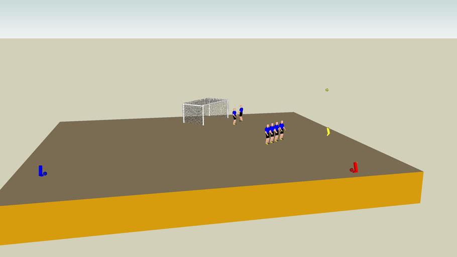Sketchyphysics soccer game