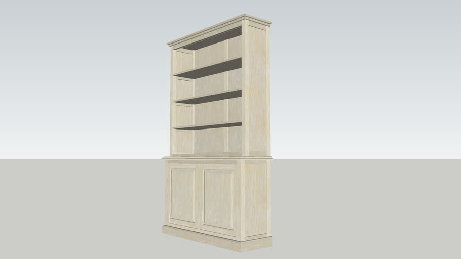 Bookcase Solid.skp