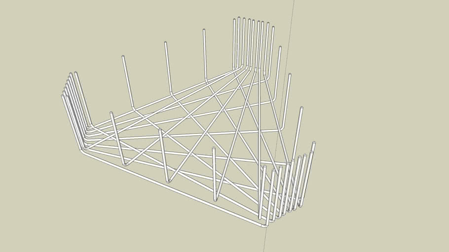 Rebar in Triangular Footing