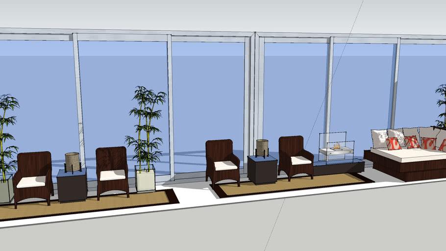 Hi Rise Patio Design