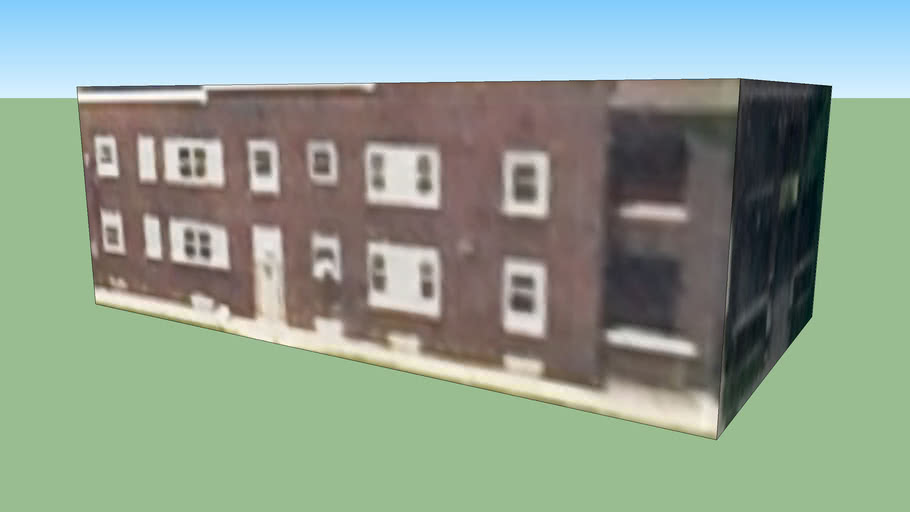 hotel de dos pisos