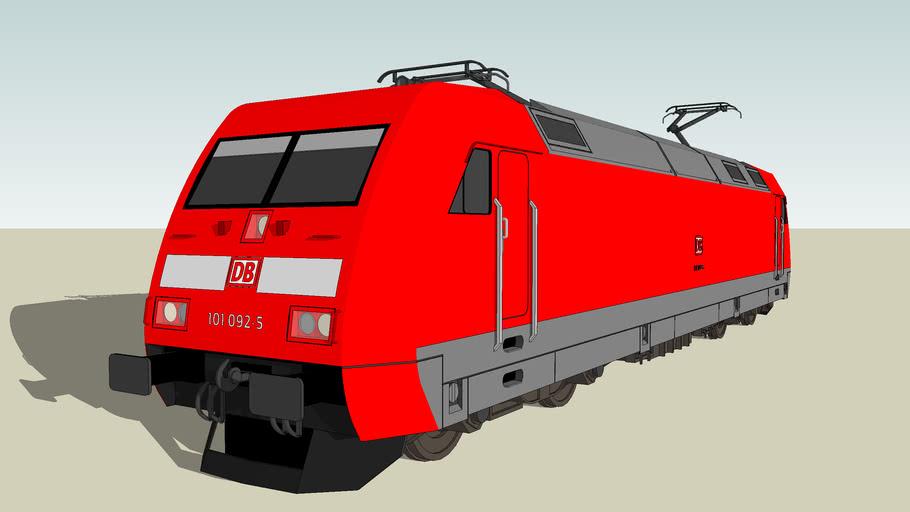 ADtranz - Baureihe 101 / Verkehrsrot Livery