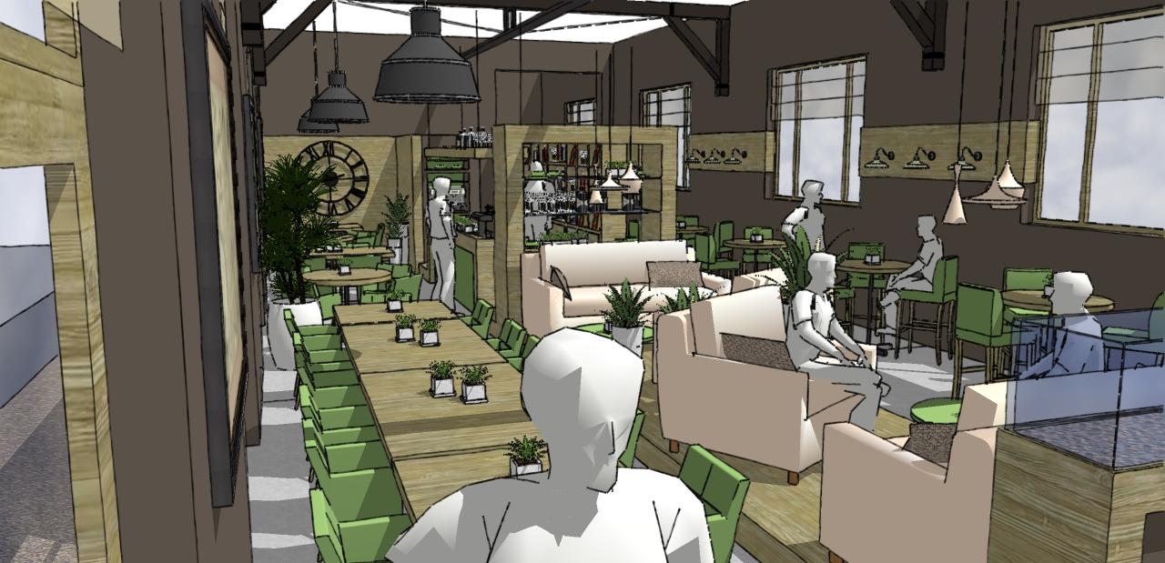 Tea-room / Brasserie / Resto
