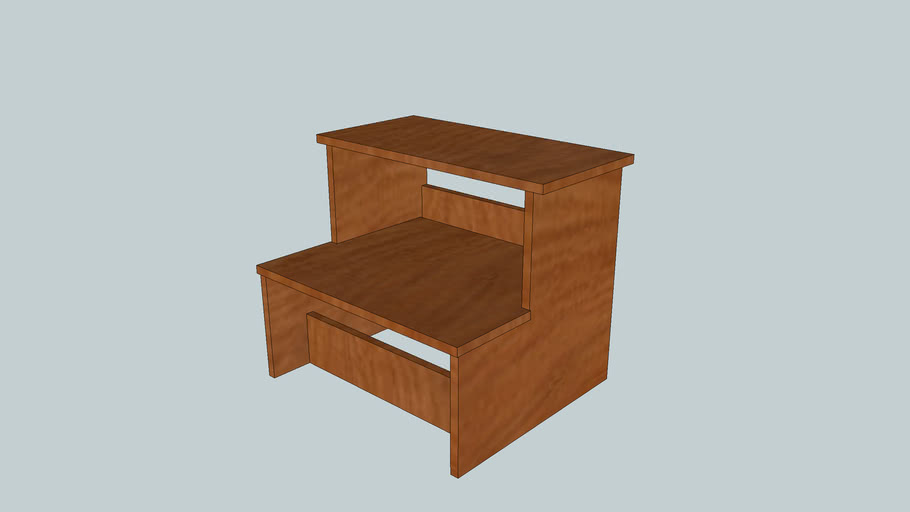 Saw Bench/Shop Stool from Popular Woodworking Magazine June 2005 Issue
