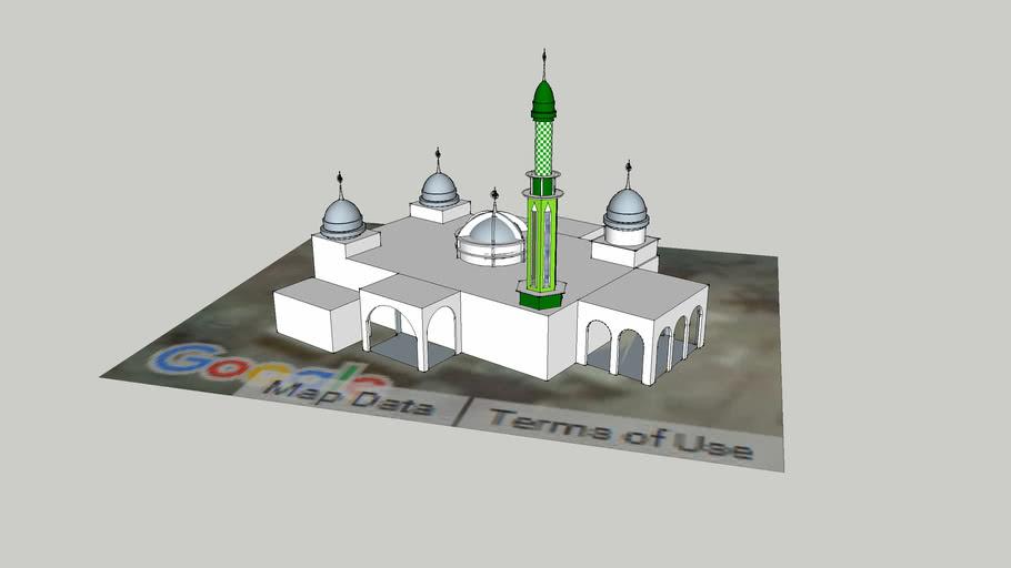 Masjid Muhajirin, Kenaman