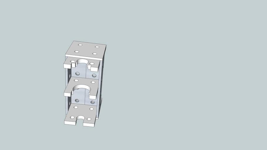 Contraptor - Flex Tube Dremel Attachment Mount v1.0