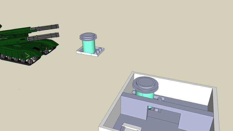 Tanque de Hibernação Alien (The Sims 2 PS2)