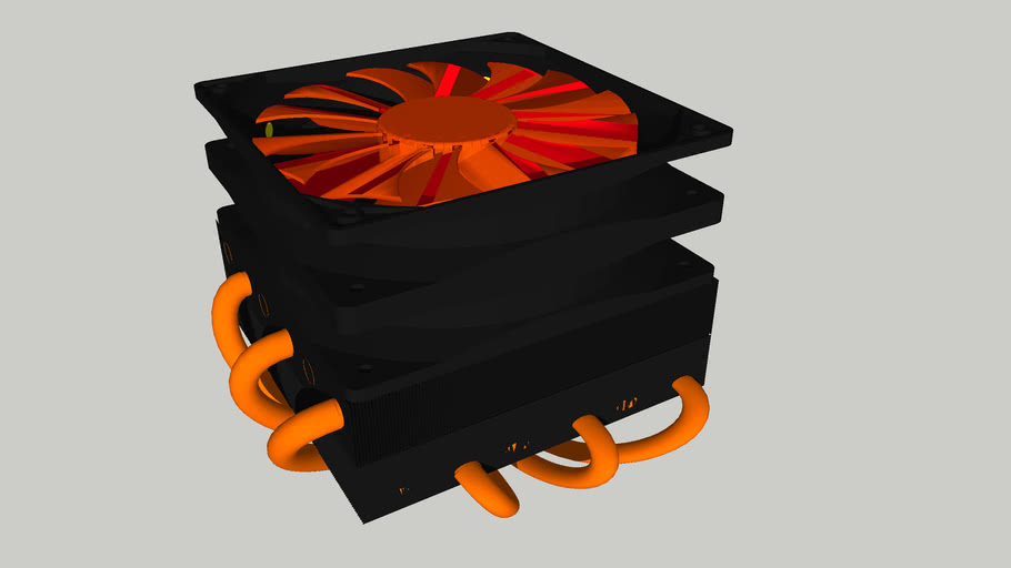 Volcano CPU cooler