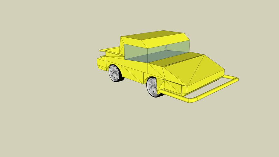 yellow hummer tuned