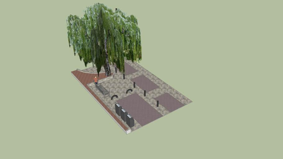 Plaza Calle Donotea con Vidre
