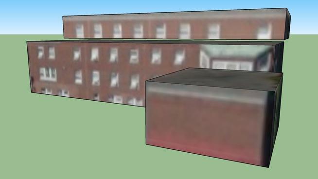 Gebäude in Somerville, MA, USA
