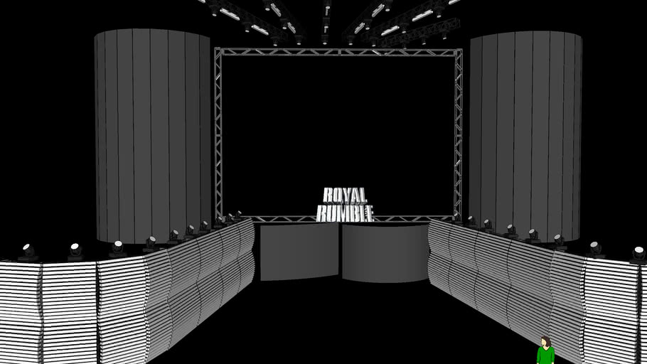 WWE Royal Rumble 2010 Stage