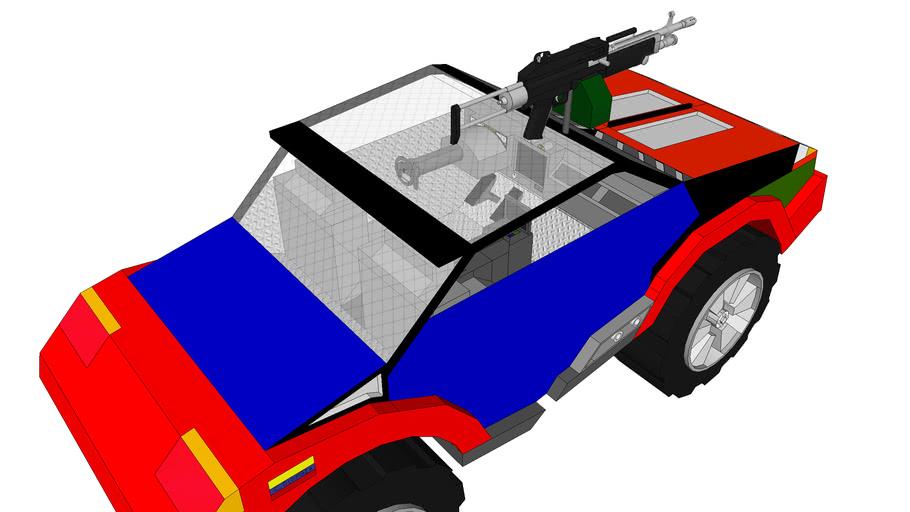 Todoterreno (2*2) ligero BK-1