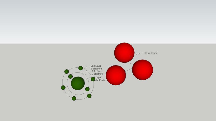 Ozone 3D Model