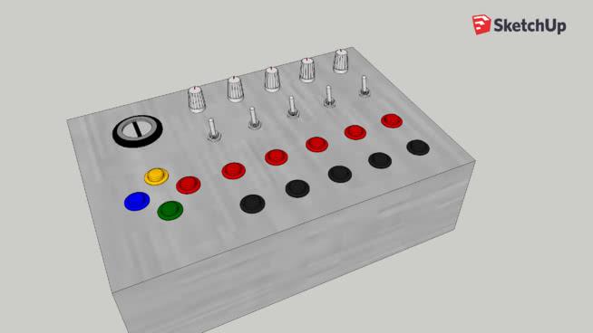 Simulator button box