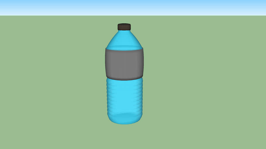 Experiment (High Poly Bottle)