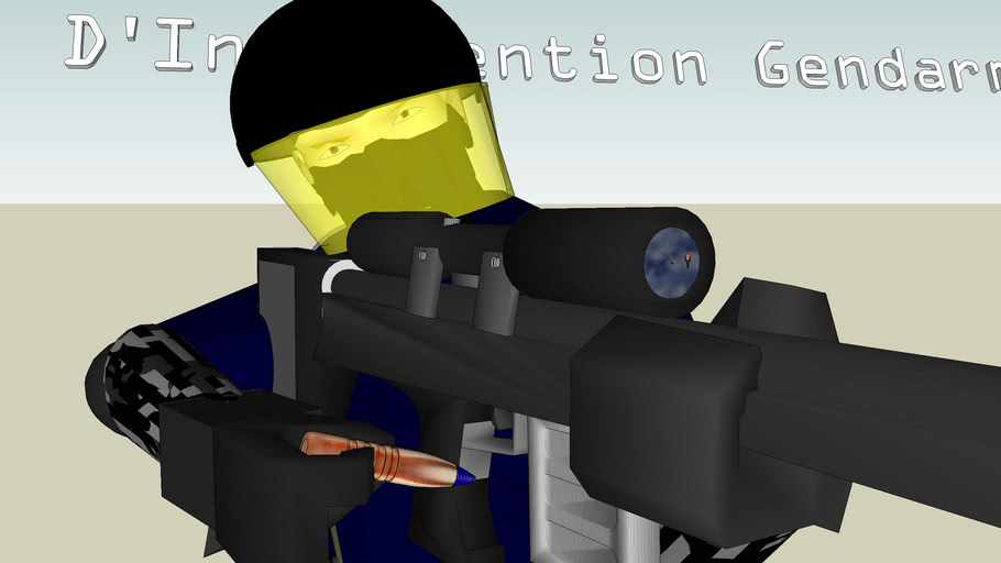 GIGN (French anti-terrorist agency- G_roupe. D' I_ntervention G_endarmerie N_ationale)