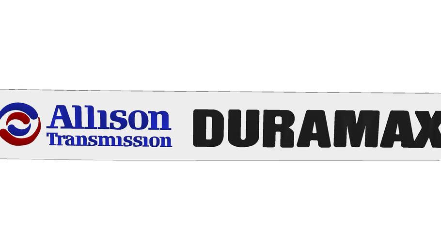 Allison Duramax Badge 2006-Present