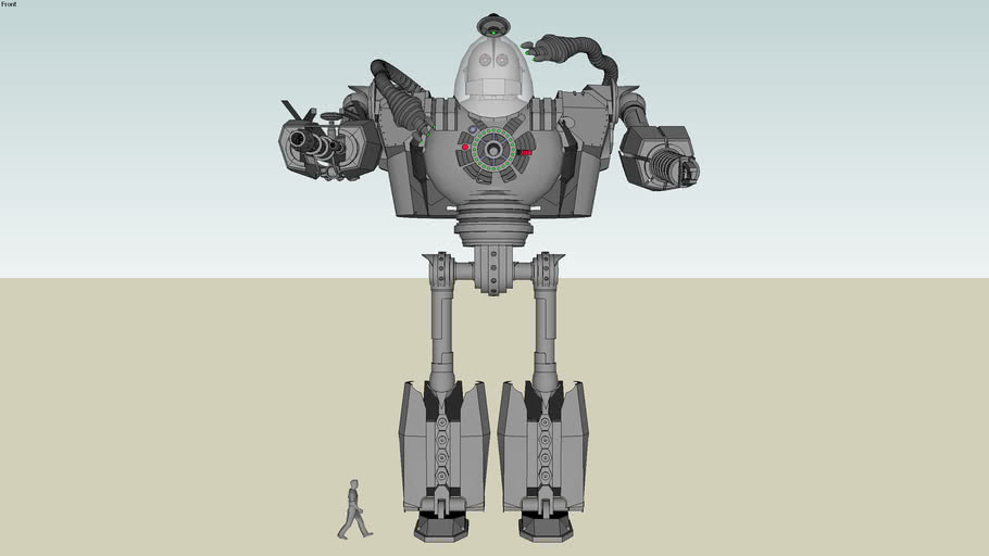 """The Iron Giant """"Trance-formed"""""""