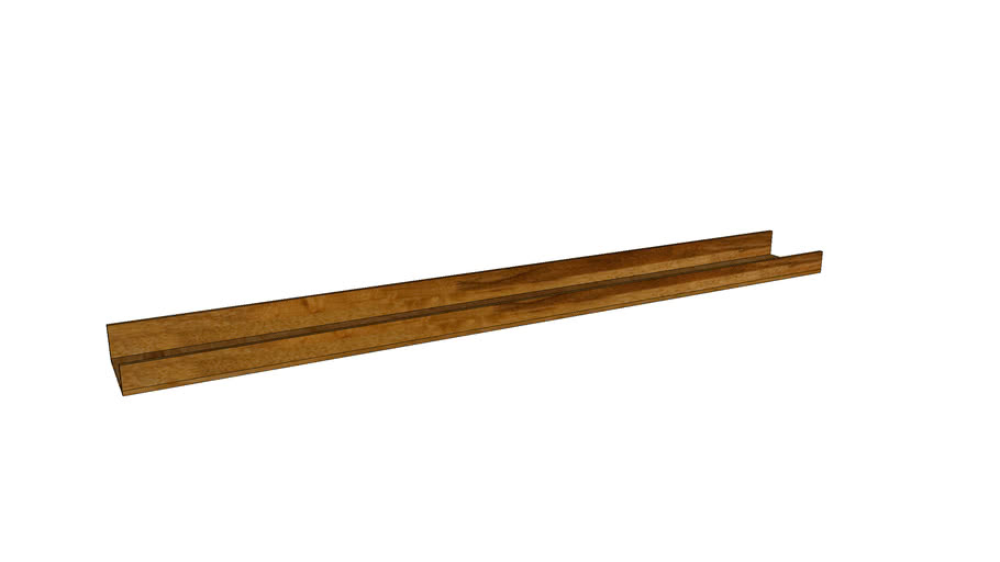 Mondeo Wall Shelf 90cm_Oak