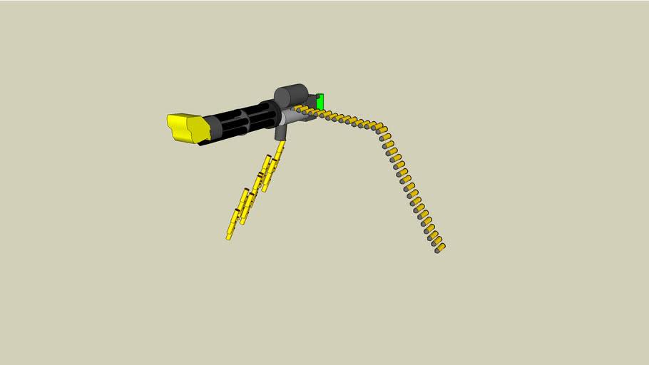 Dillon M134 Areo Gatling Gun