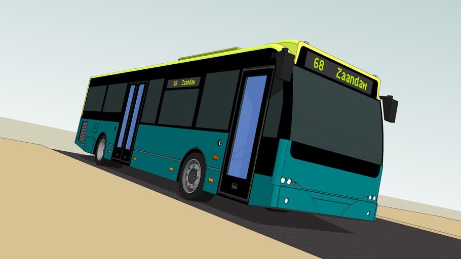 Ambassador 120 Bus with SketchyPhysics