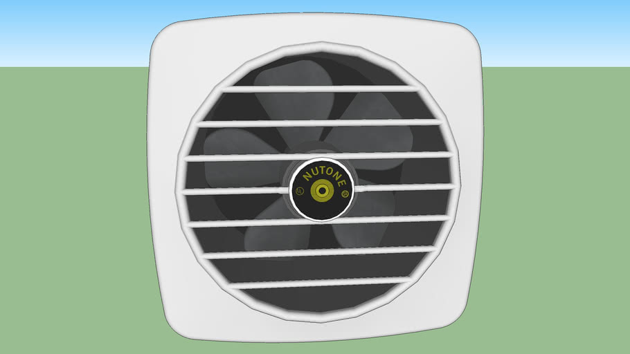 NuTone Vintage Stove Exhaust Fan 3