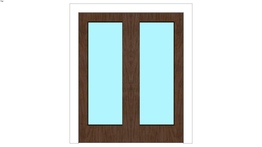 SU101_Beach House - Door - Double