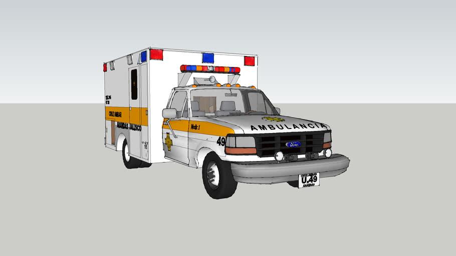 ambulancia de la cruz ambar arandas
