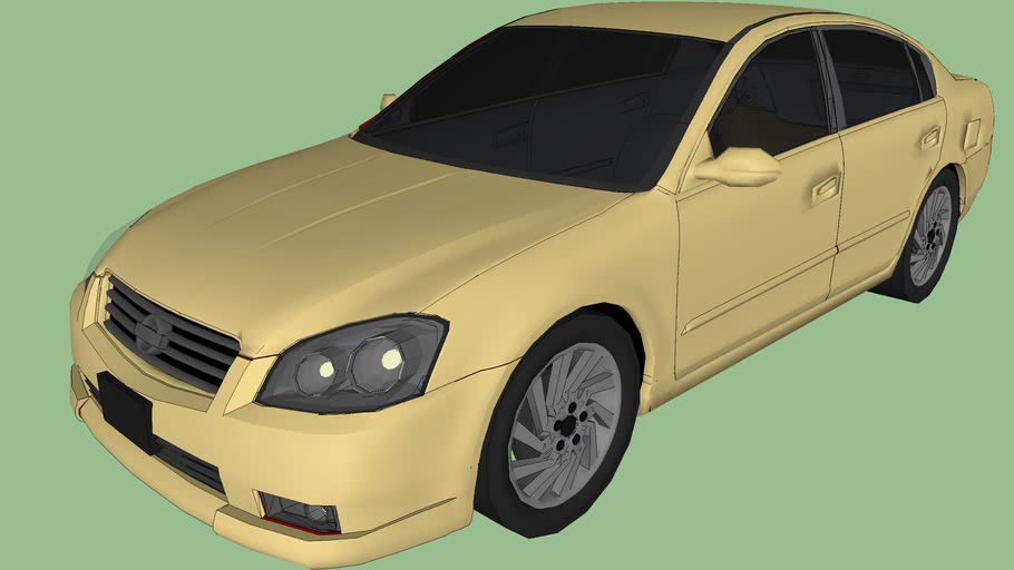 Nissan Altima improved