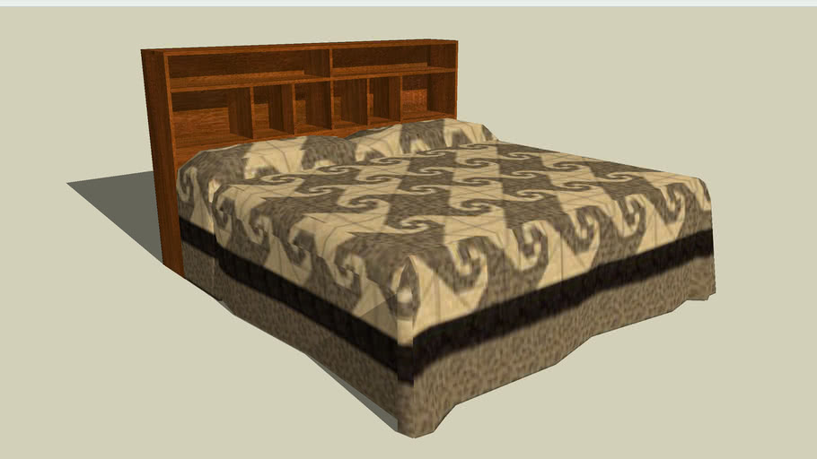 Quilted bed 5
