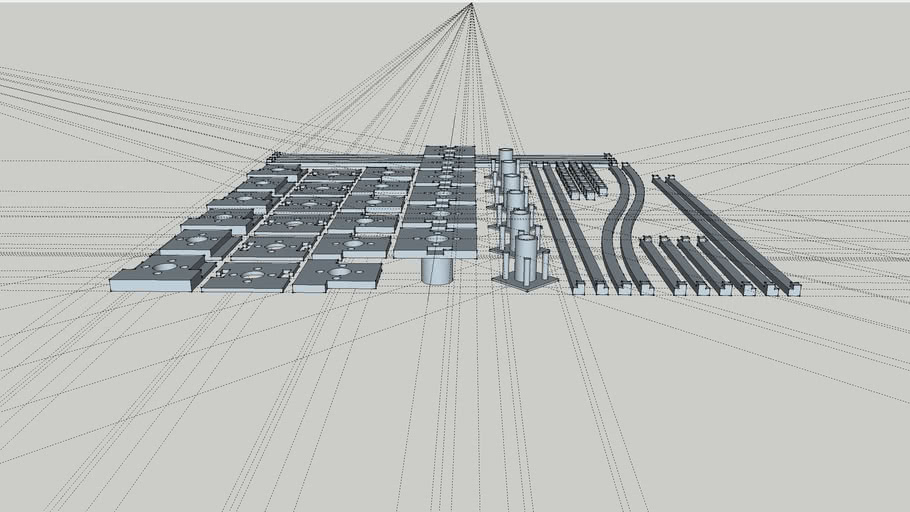 3d Printable ITX Base