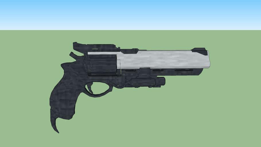 Hawkmoon Exotic Hand Cannon (Destiny)