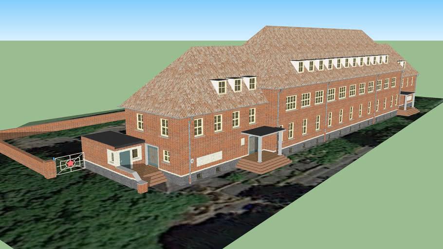 дом № 16 (56) солдатская столовая, казарма