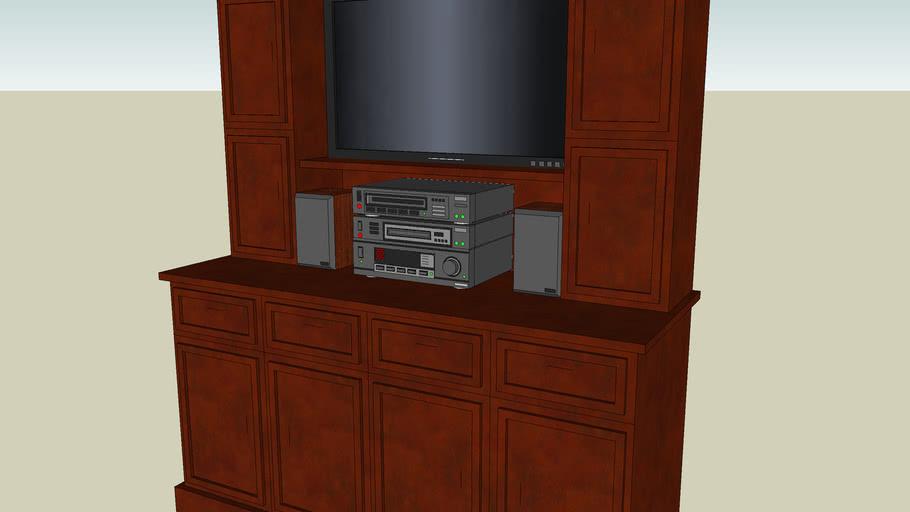 AV Cabinet.