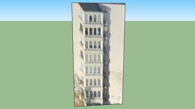 德国柏林的建筑模型