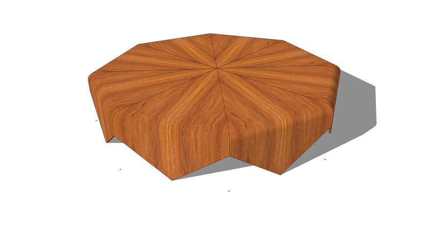 """Petalas"" coffee table by Jorge Zalszupin"